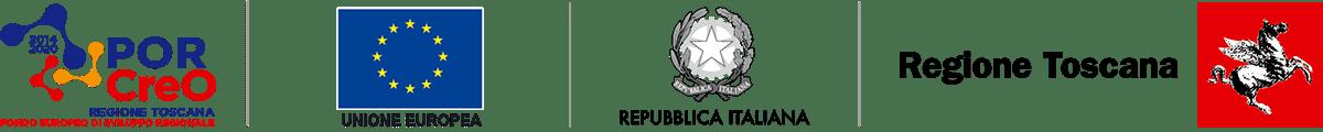 logo Por Creo - Unione Europea - Repubblica Italiana - Regione Toscana