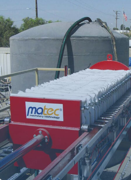 CWR – Ready mix washout plant | Matec Italia