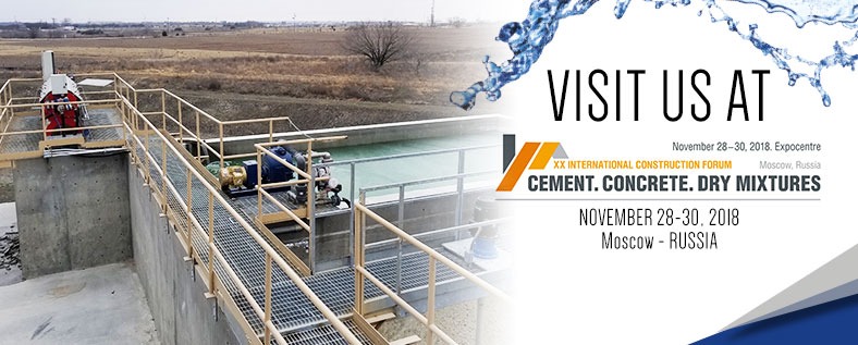 Cement, Concrete, Dry Mixtures – 28-30 Novembre – Mosca, Russia